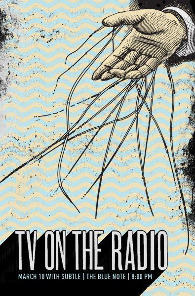 Indie Band Posters   Indie Band Gig Posters by Garrett Karol « TYPOGRAFFIT : BLOG