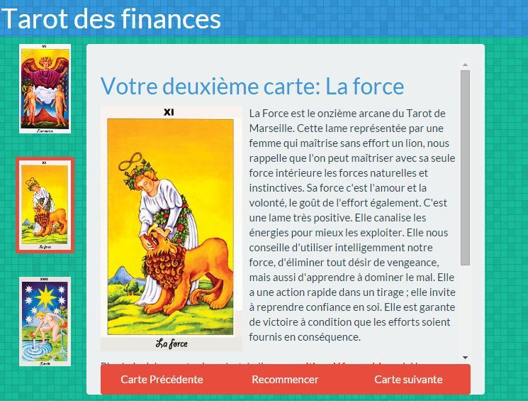 Tirage Gratuit De Trois Carte Du Tarot Des Finances Tarot