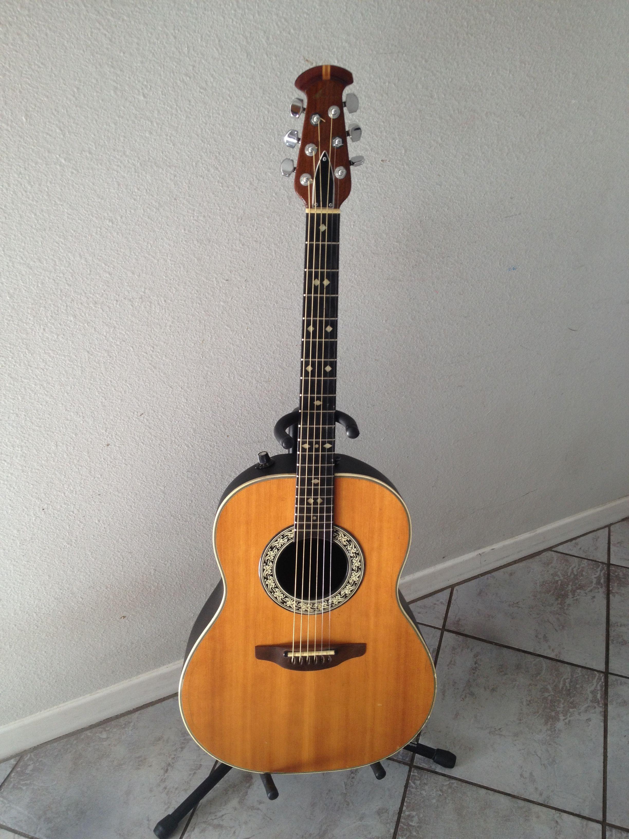 a2e92af9b2 1979 Ovation 1612-4 balladeer Guitar | Roundbacks | Guitar ...