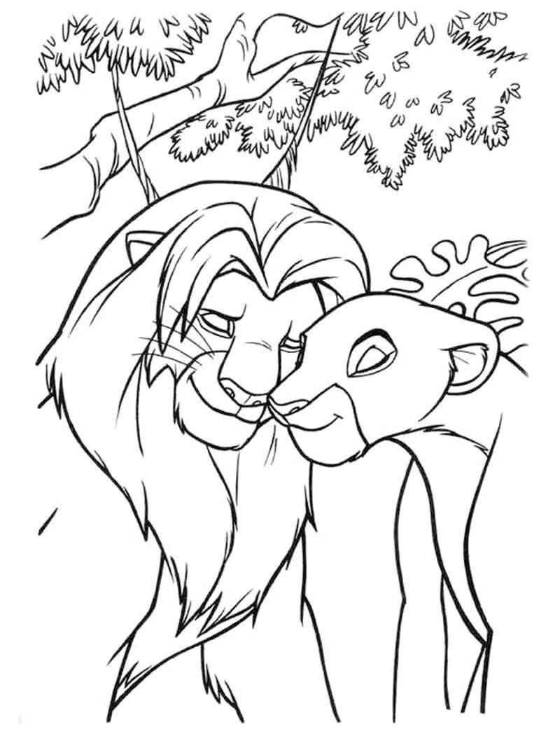 Free Lion King Coloring Page King Coloring Book Lion Coloring Pages Disney Coloring Pages