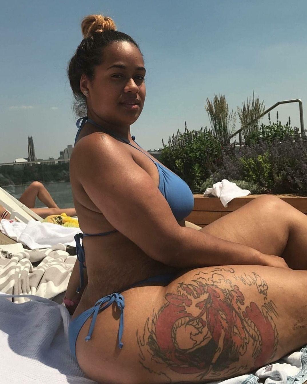 bunz in the sun | black bbw | pinterest | curvy, big black and curves