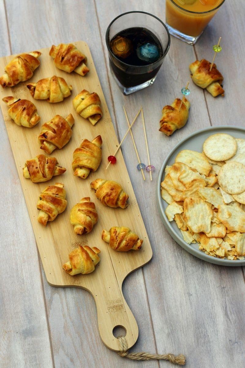 croissants ap ritifs la moutarde et poulet en 2019. Black Bedroom Furniture Sets. Home Design Ideas