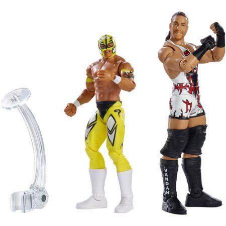WWE Battle Pack Rob Van Dam/Rey Mysterio, Multicolor