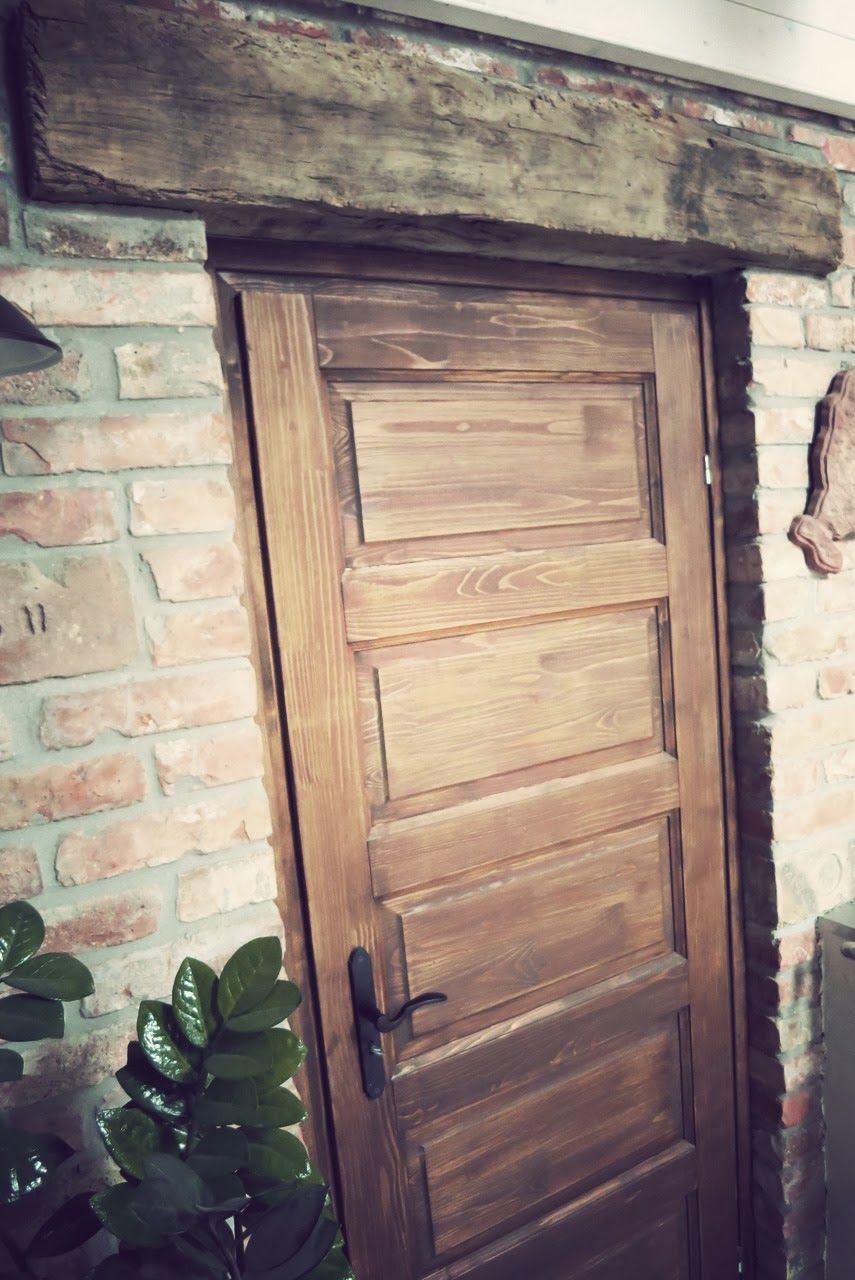 Magyar Otthon: Rusztikus beltéri ajtó, avagy a csodatévő szemöldökfa