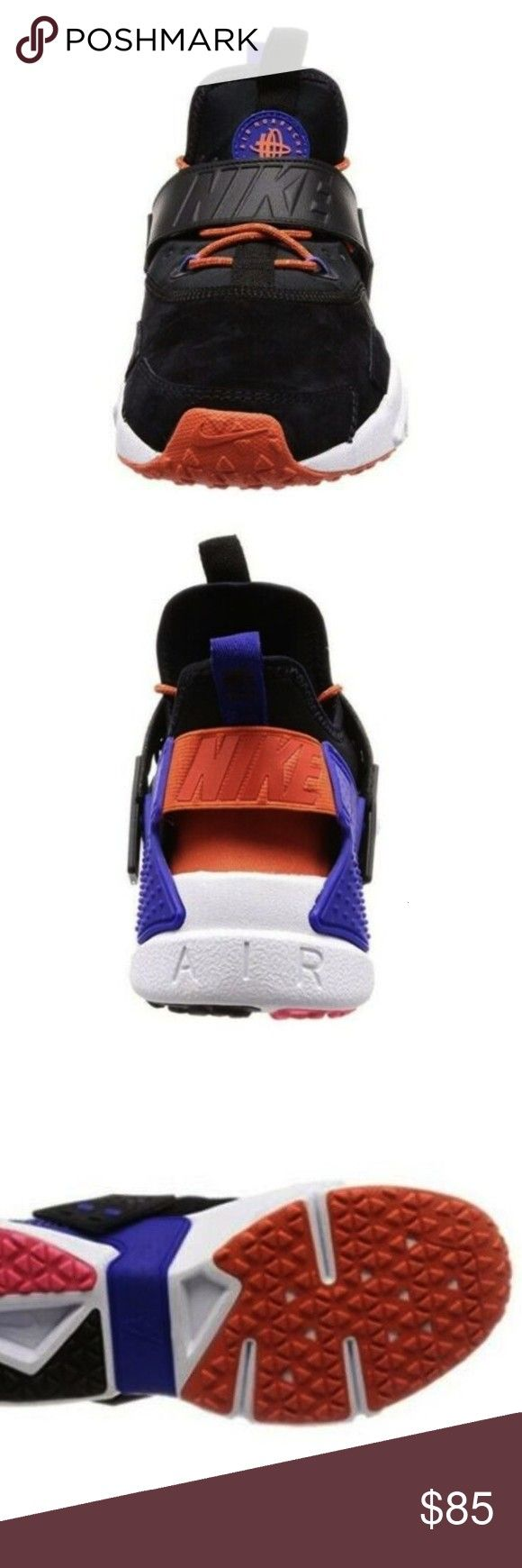 Blue Black Running Shoes AH7335 002 Size 105 Nike Mens Air Huarache Drift Nike Blue Black Running Shoes AH7335 002 Size 105 Nike Mens Air Huarache Drift Nike Blue Black R...