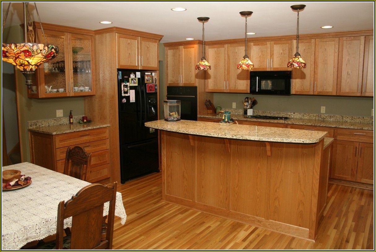 Honey Oak Cabinets With Granite | Honey oak cabinets