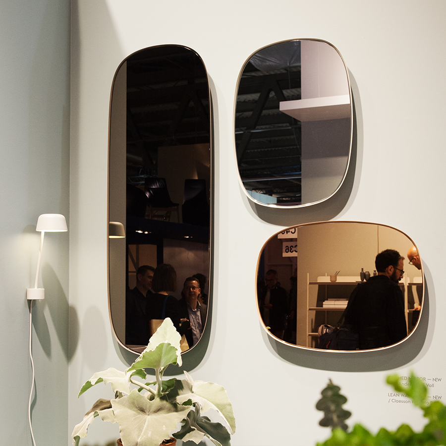 framed mirrors by anderssen voll for muuto milano salone del mobile 2016 pinterest. Black Bedroom Furniture Sets. Home Design Ideas