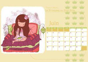 Calendrier JUIN12-A4- un blog francés precioso!!!