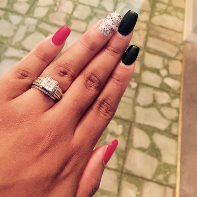 First time using Jamberry nail wraps! I love music and I love my ...