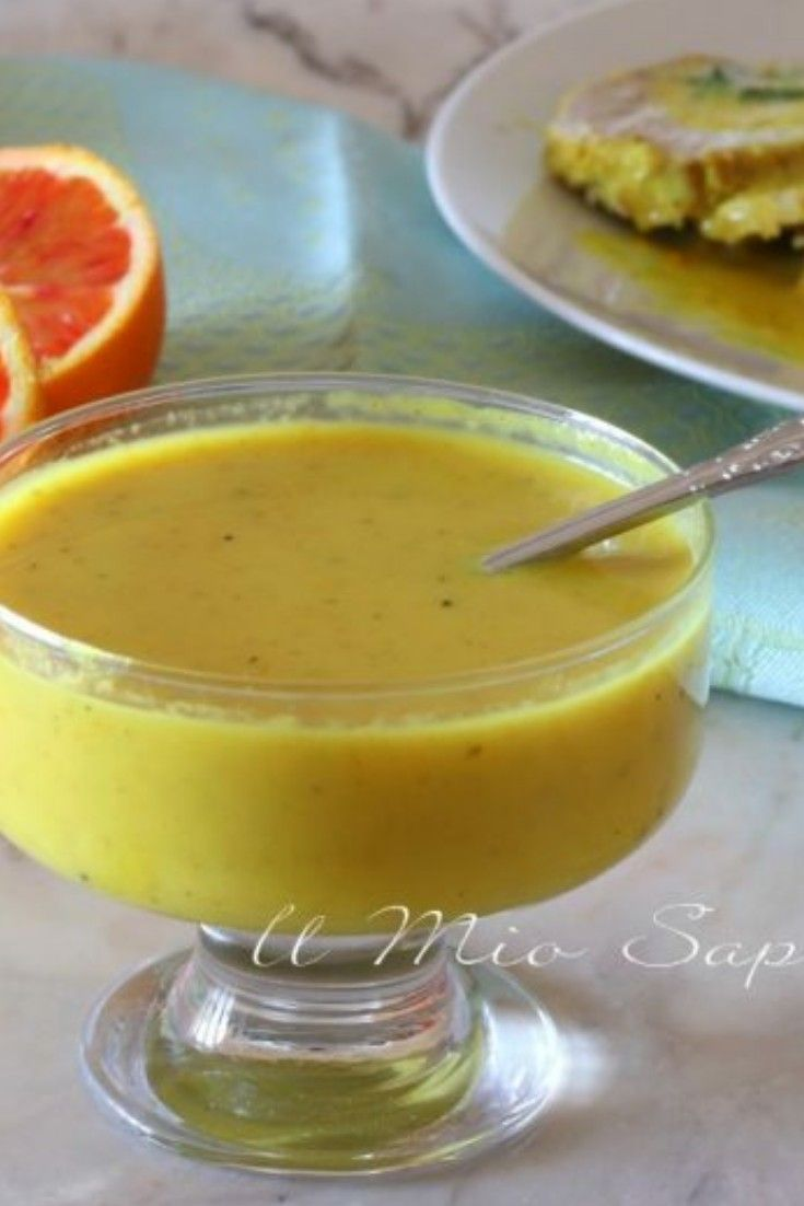 Photo of Orange sauce: seasoning for meat and fish