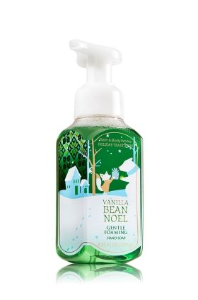 Vanilla Bean Noel Gentle Foaming Hand Soap Bath Body Works