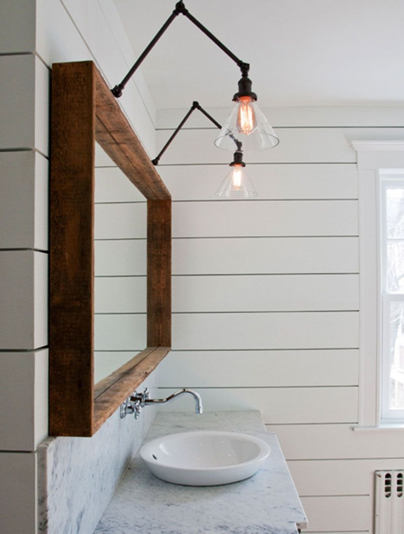 25+ Easy & Creative Bathroom Mirror Ideas to Reflect Your Style ...