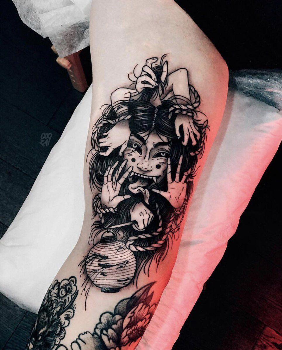 Dark Japanese Tattoo Japanese Tatts Pinterest Tattoos Tattoo