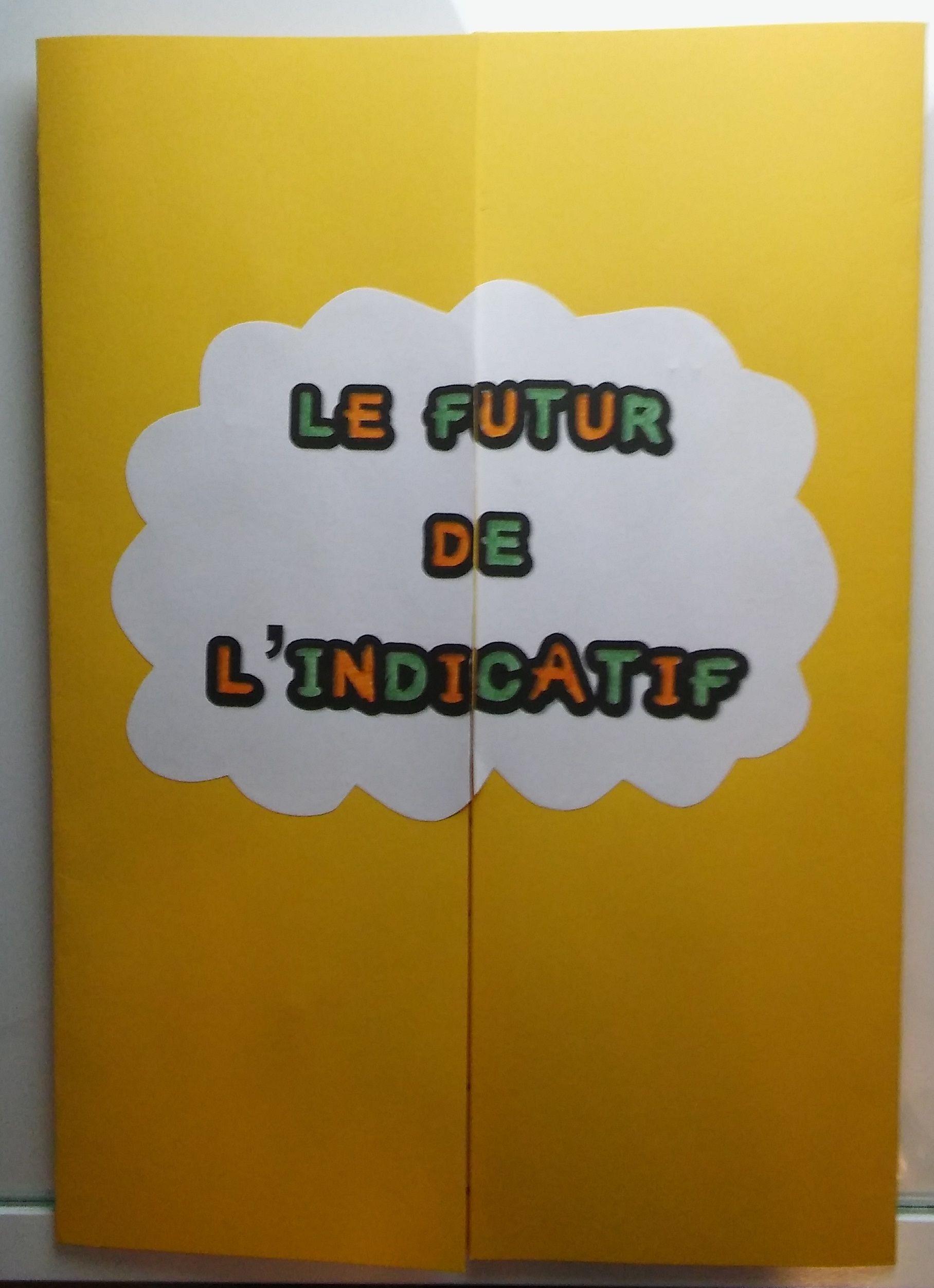 Lapbook Le Futur Ce2 Le Verbe