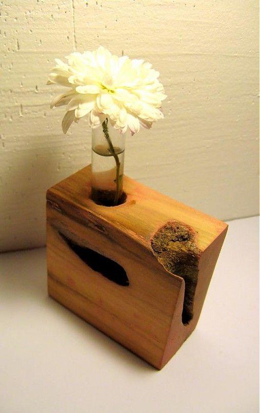 Keď na vázu nie je miesto. by dodofish - SAShE.sk - Handmade Nábytok
