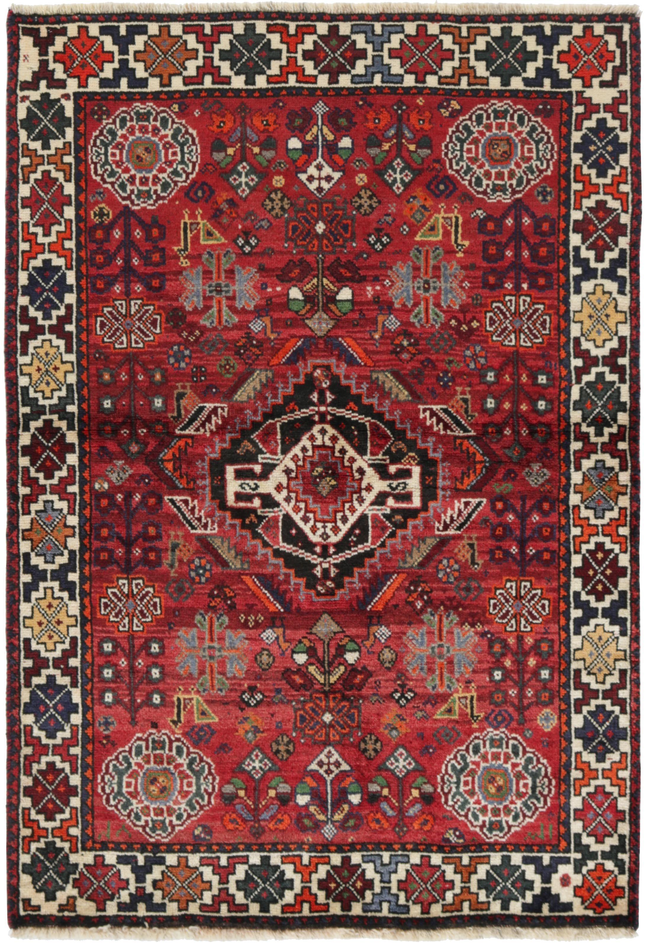 Kashghai Teppich 152x105 Tapis