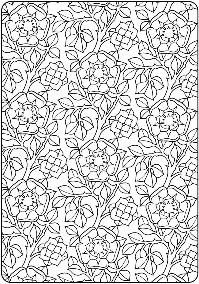 Creative Haven Deluxe Edition Elegant Art Nouveau Coloring