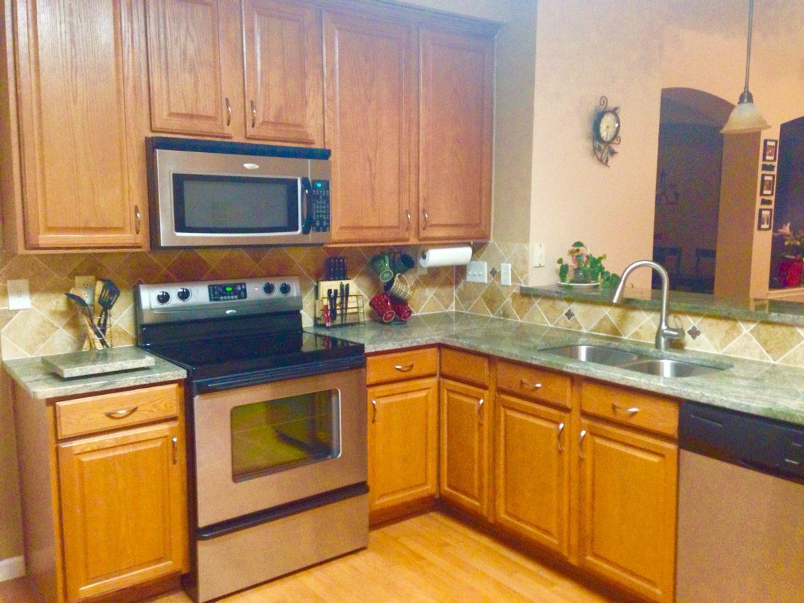 Kitchen Fire Bordeaux Granite | Kitchen, Kitchen cabinets ...