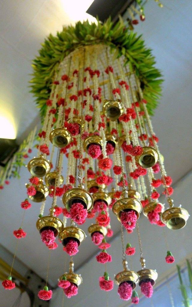 Ganpati decoration ideas themes decor ganesh chaturti also best images dekoration fabric flowers how to make rh pinterest