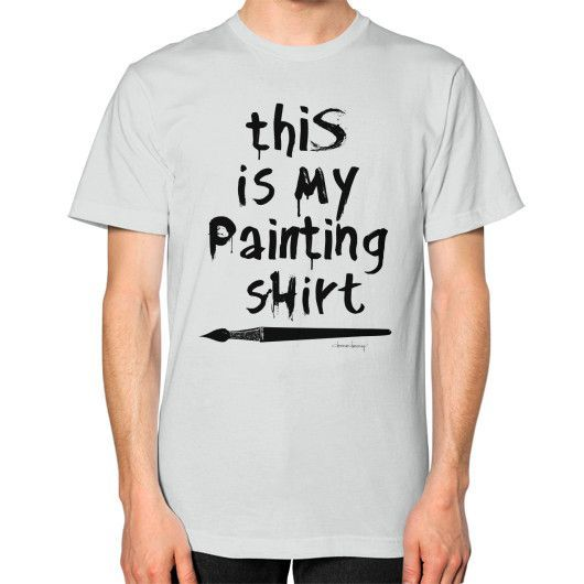 "ART-tee | ""Painting Shirt"" Unisex T-Shirt (more colors)"