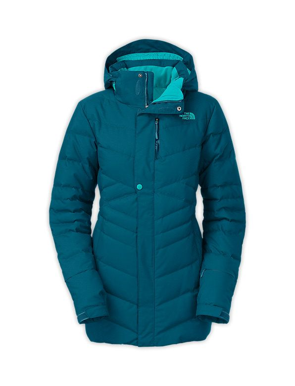 North face greta down insulated jacket women's