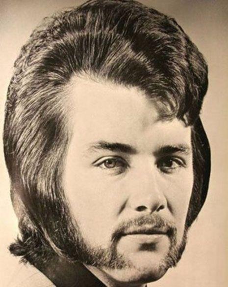 Als Manner Noch Schon Waren Herrenfrisuren Der 70er Herrenfrisuren Frisuren 70s Haar