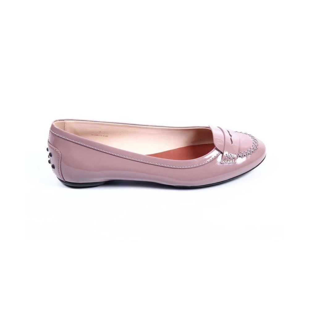 0ce7ab81fa5 Tod's Ladies Ballerina Flats PINK #Tods #Ballerinas #Casual Ballerina  Flats, Leather Heels
