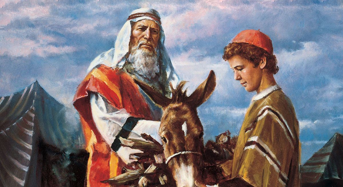 """Jacob told his people that Abraham's sacrifice of Isaac was """"a ..."""