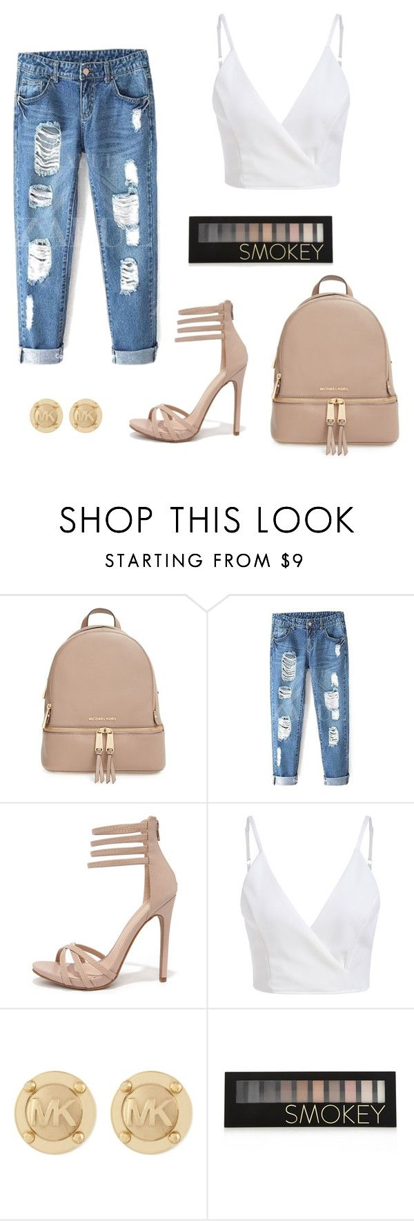"""""""Micheal Kors"""" by ruby-garthune ❤ liked on Polyvore featuring мода, MICHAEL Michael Kors, Shoe Republic LA, Michael Kors и Forever 21"""