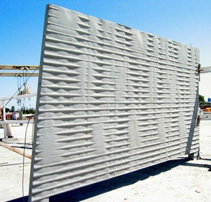 Image Result For Screen Concrete Blocks Uk Techcrete Modern Fence Brick Fence Fence Design