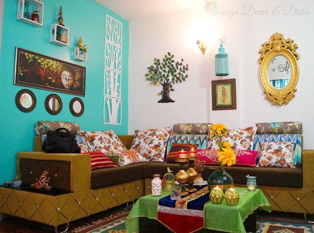 Design Decor & Disha Home Tour Indian Living Room Living Room Extraordinary Indian Living Room Decor Design Inspiration