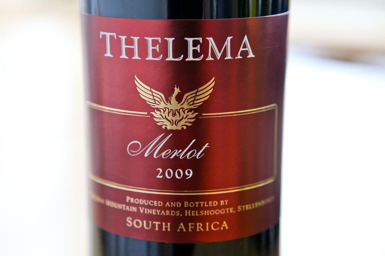 Thelema Merlot Bottle Rose Wine Bottle Wine Bottle