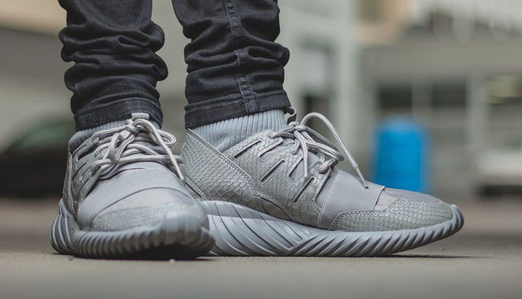 Adidas Tubular Doom Charcoal Grey
