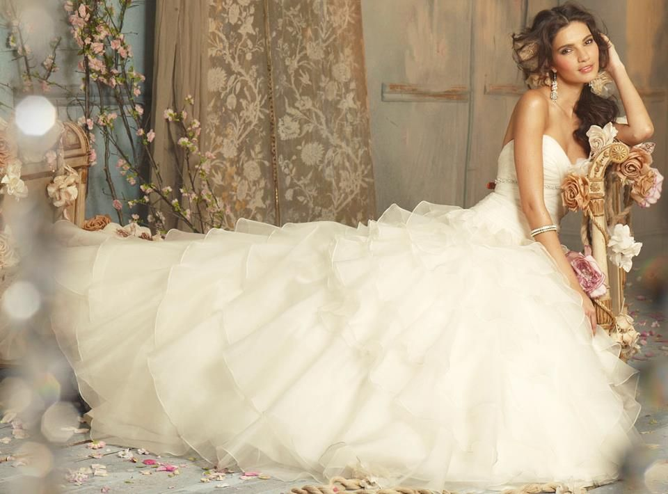 Stunning Wedding Dresses Tumblr : The 20 most beautiful wedding dresses winter wonderland wedding