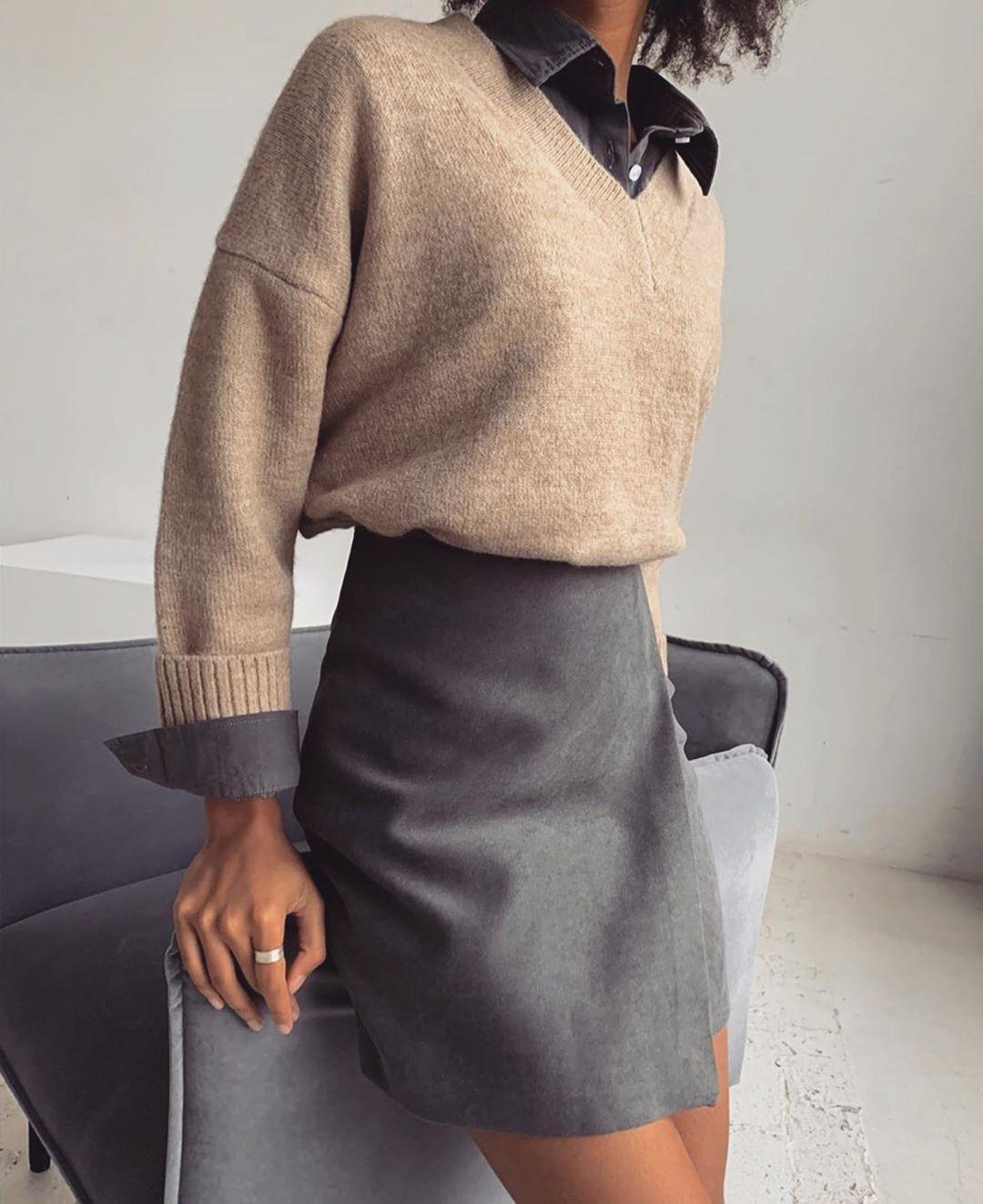 "Photo of Zara Community su Instagram: ""Simplicity"" # Abiti casual comodi Zara C …"