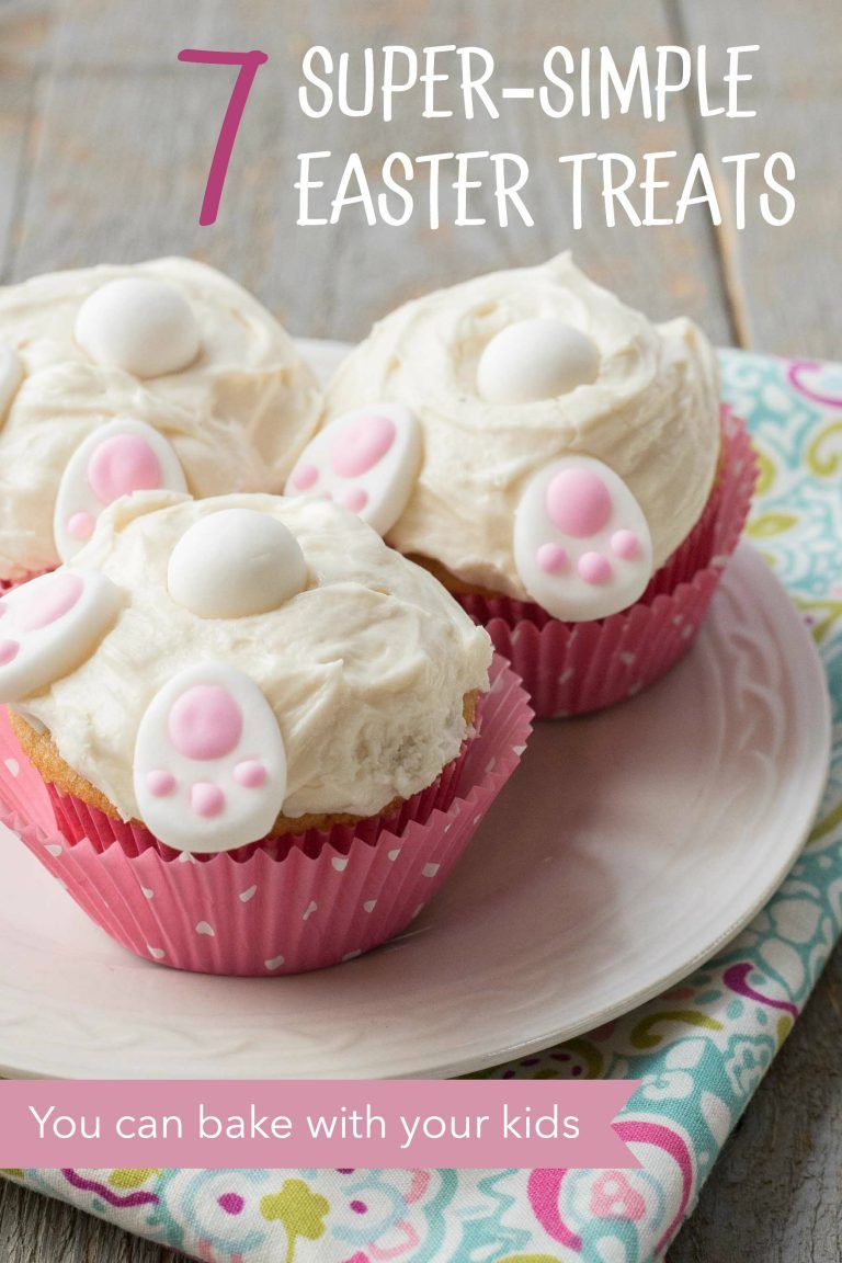 7 Super Simple Easter Treat Ideas For Making With Kids Easter