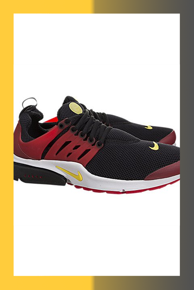de000f3f3e NIKE Air Presto Essential Mens Running Trainers 848187 Sneakers Shoes (US 13,  Black Tour Yellow Red White 006)