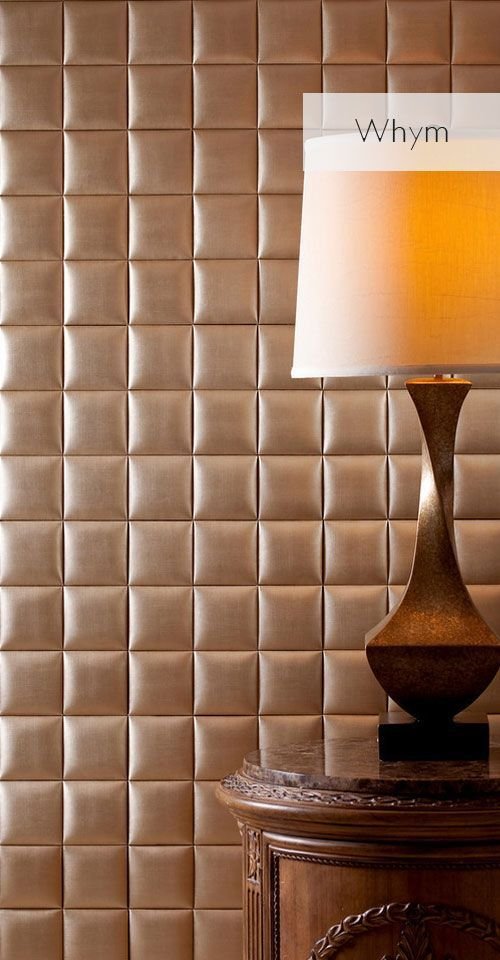 Essentials Collections Nappatile Faux Leather Wall Tiles