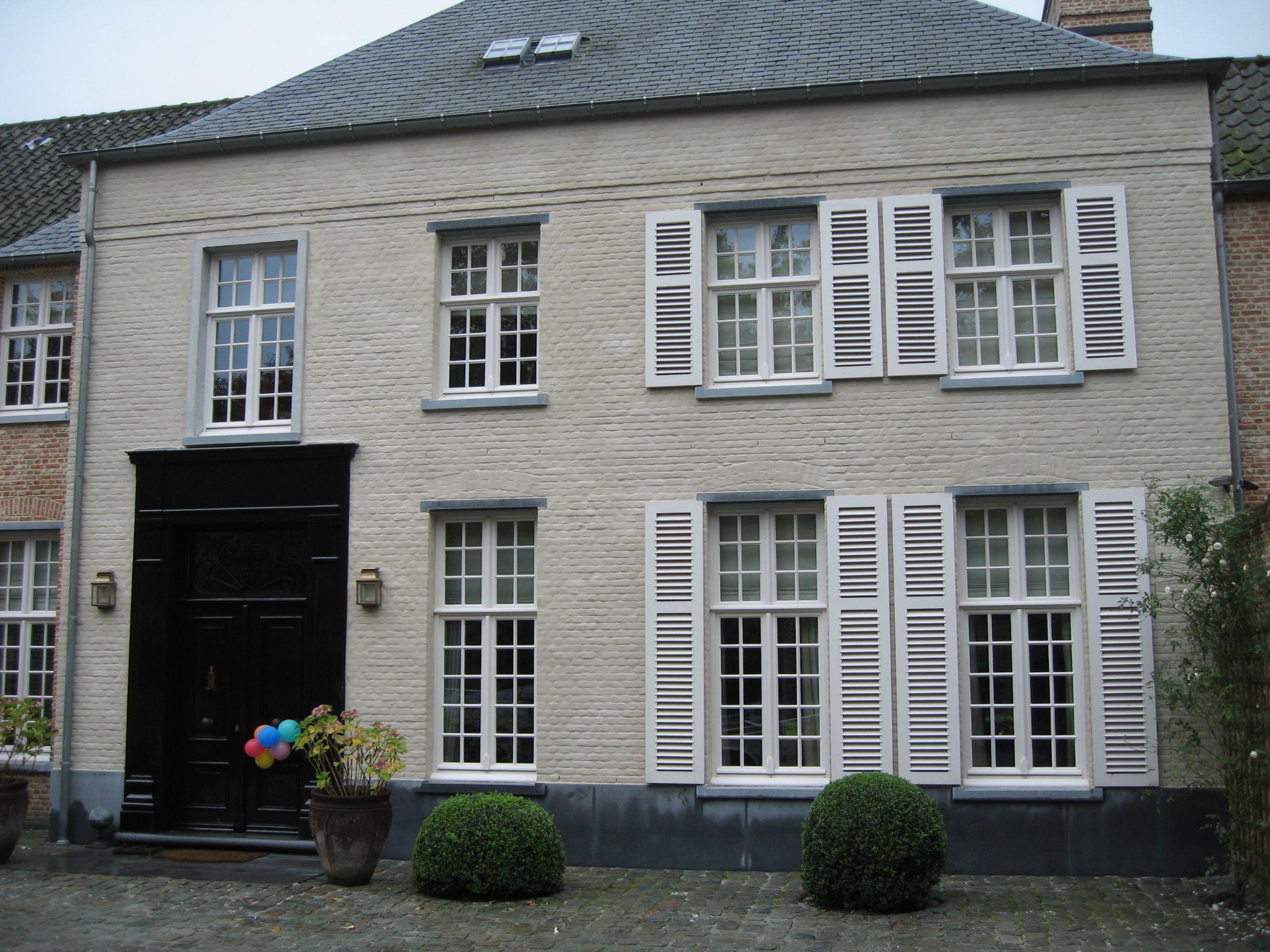Kaleien voor en na kalk 2 pixels gevels pinterest buitenkanten van huizen - Exterieur ingang eigentijds huis ...
