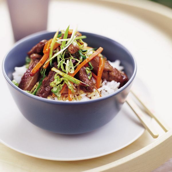 Best Chinese Duck Recipes: Honeyed Duck And Vegetable Stir-fry