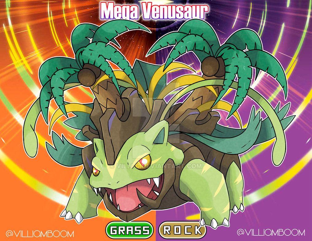 Mega Alolan Venusaur By Villi C Pokemon Alola Pokemon Art