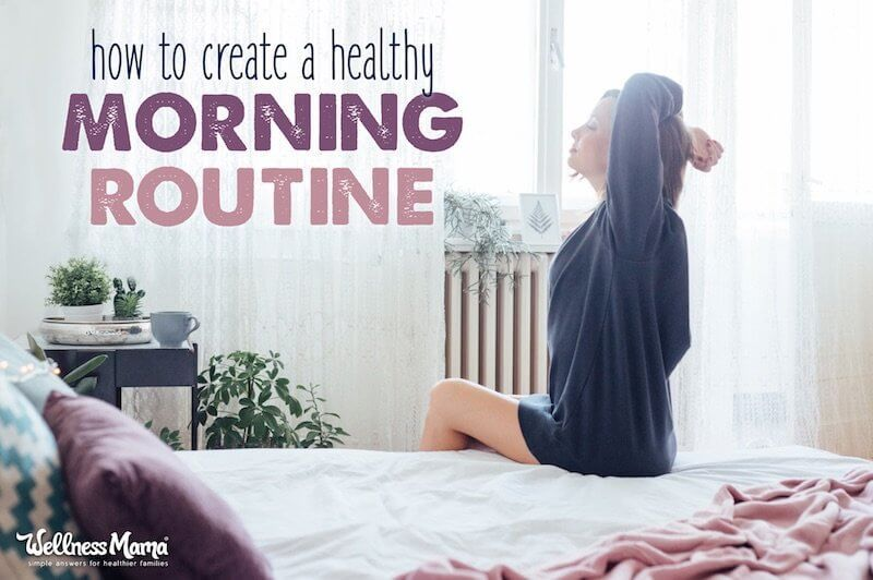 How to Create a Healthy Morning Routine (That Works!) #morningroutine