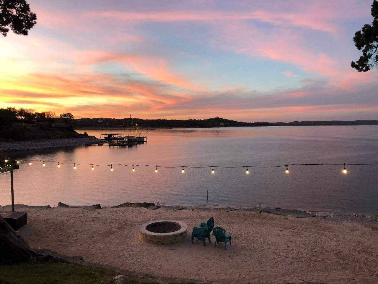 Entire peninsula on lake travis tres aguas houses for