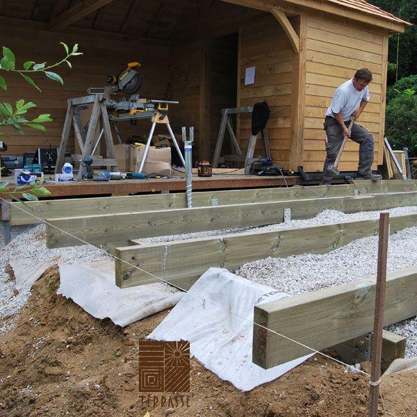 vis de fondation krinner un exemple d 39 utilisation concret pour r aliser la structure d 39 une. Black Bedroom Furniture Sets. Home Design Ideas