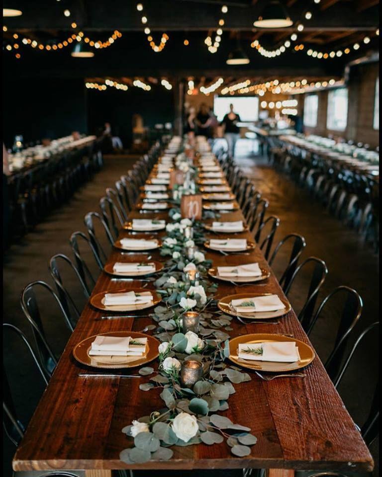 Cheap Wedding Reception Venue Ideas: Industrial Wedding Reception, Chic