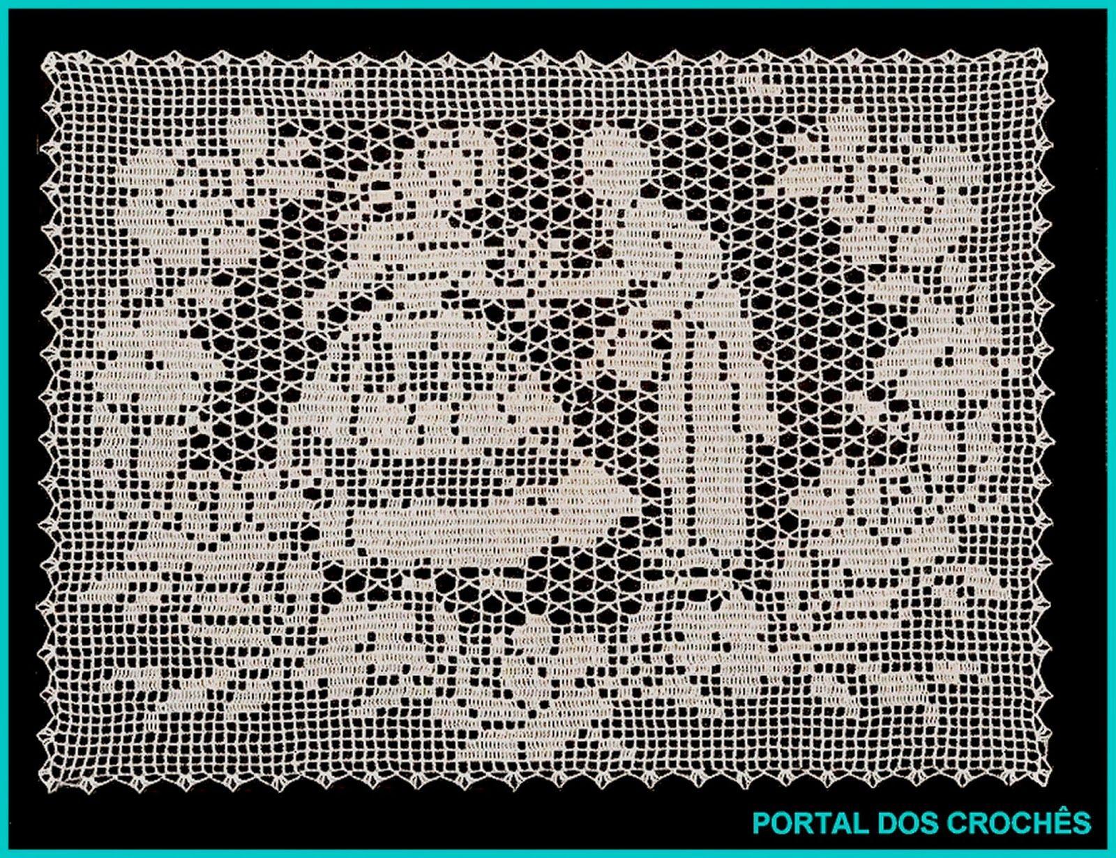 Portal Dos Croch S Croch De Fil A Dama E O Cavalheiro Crochet