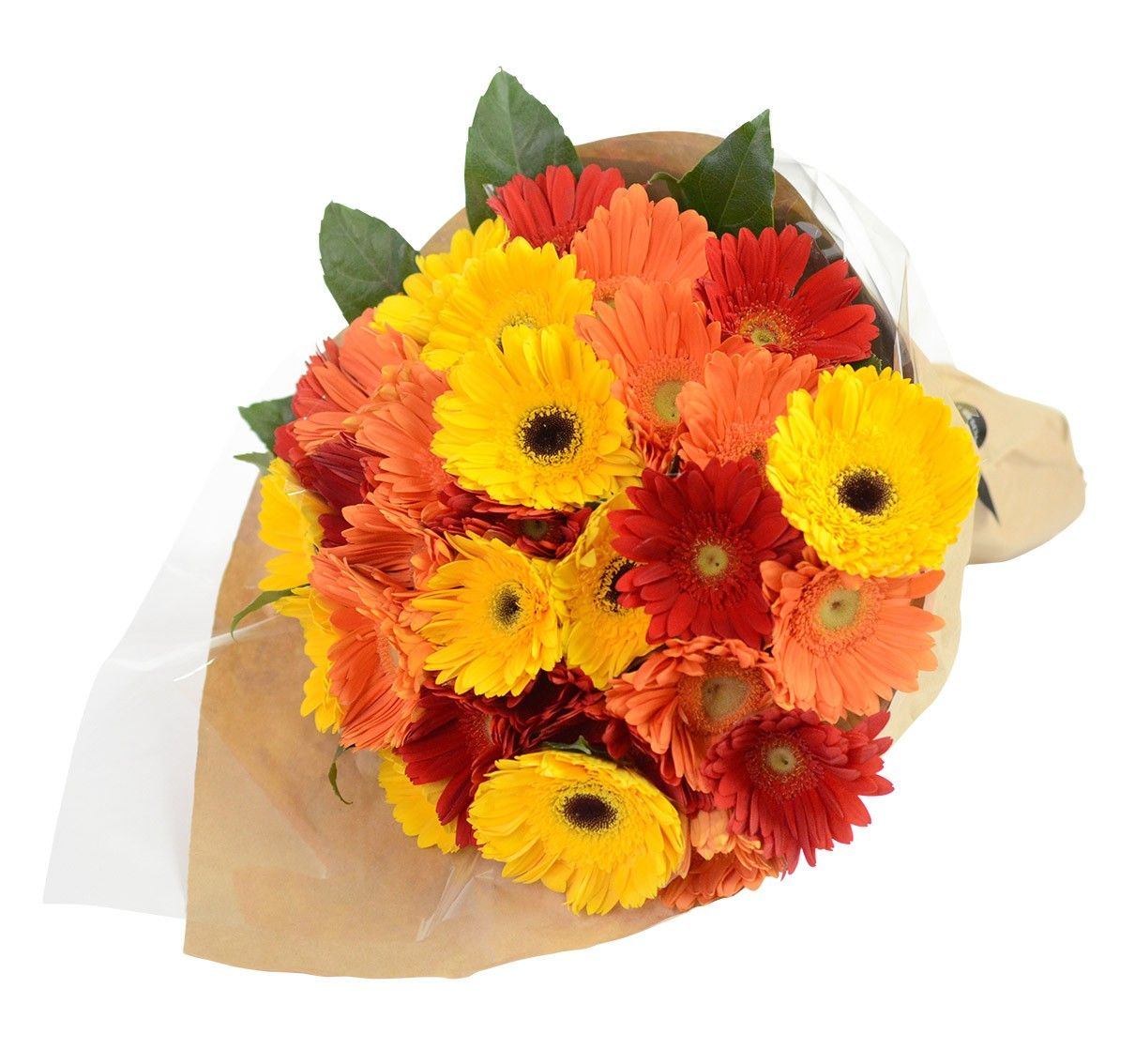 Mixed Gerberas Bouquet Gift Flowers SG (With images