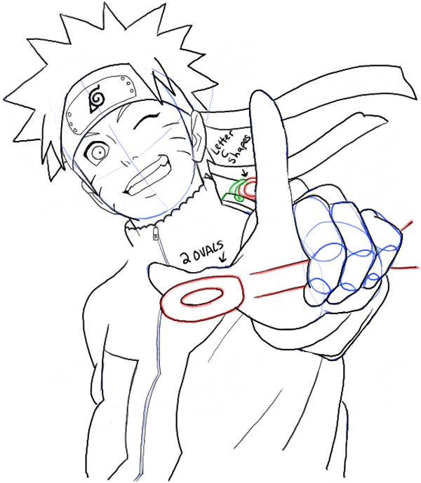 How To Draw Naruto Uzumaki Step By Step Drawing Tutorial How To Draw Step By Step Drawing Tutorials Naruto Drawings Naruto Sketch Drawing Naruto Painting