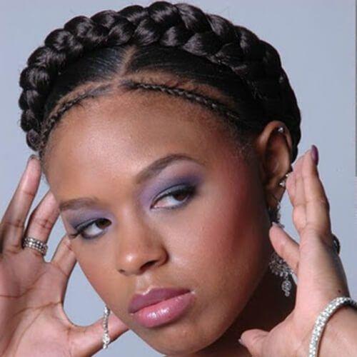 50 kreative Crown Braid Frisuren  #braid #crown #frisuren #kreative #goddessbraids
