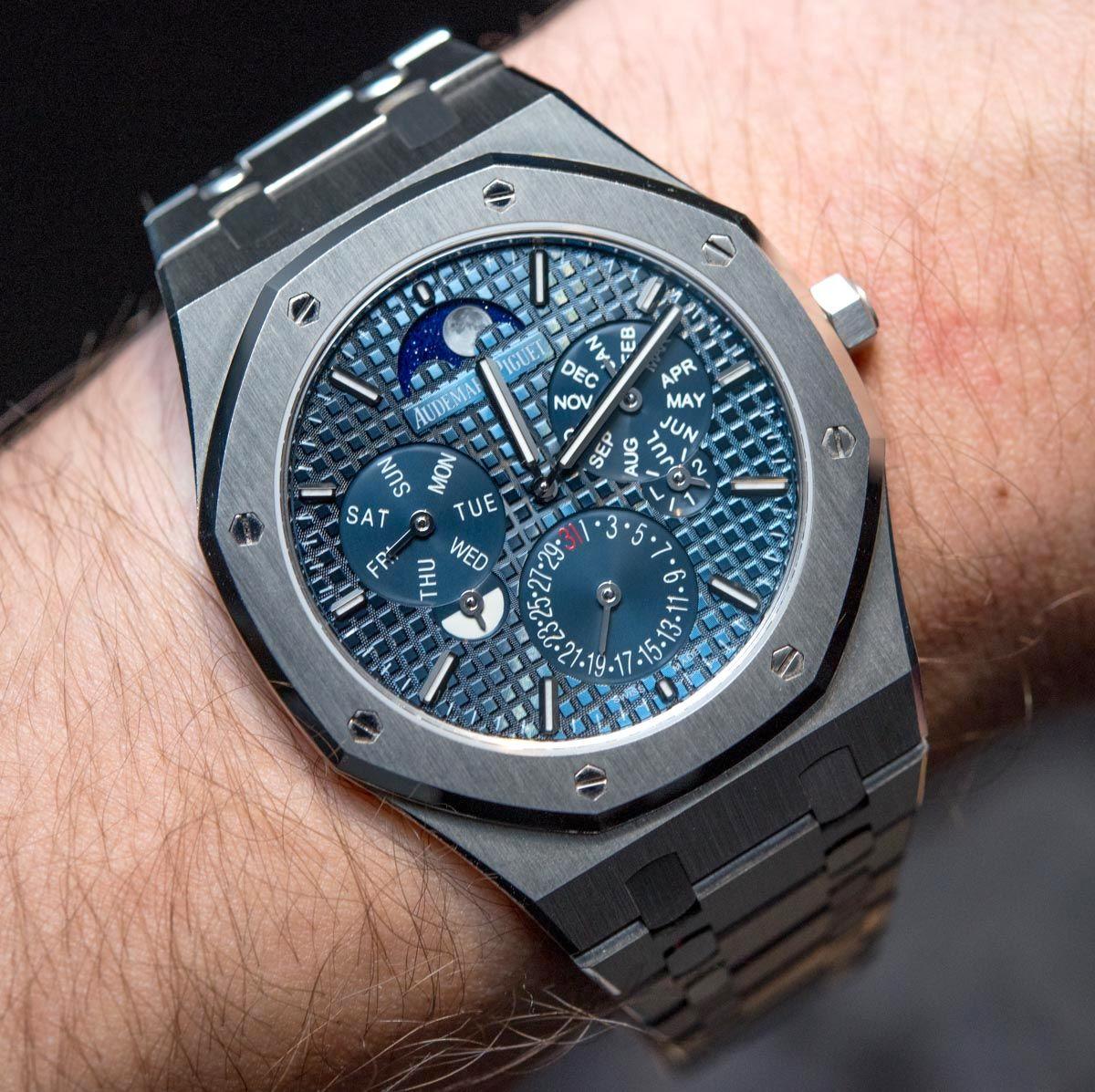 Audemars Piguet Royal Oak Rd 2 Perpetual Calendar Ultra Thin Hands On Ablogtowatch Audemars Piguet Best Watches For Men Audemars Piguet Gold